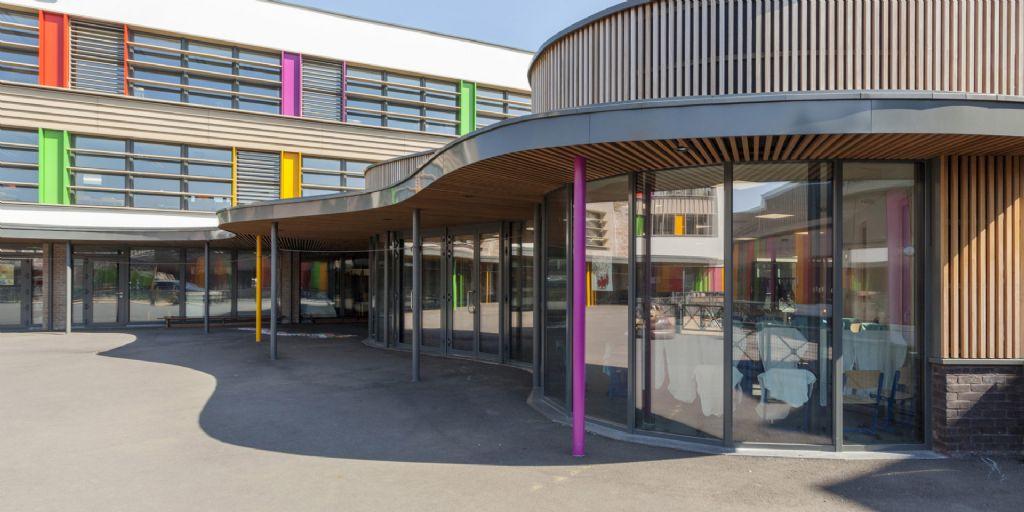 Ecole sur le site Van Oost (DDS+) à Schaerbeek