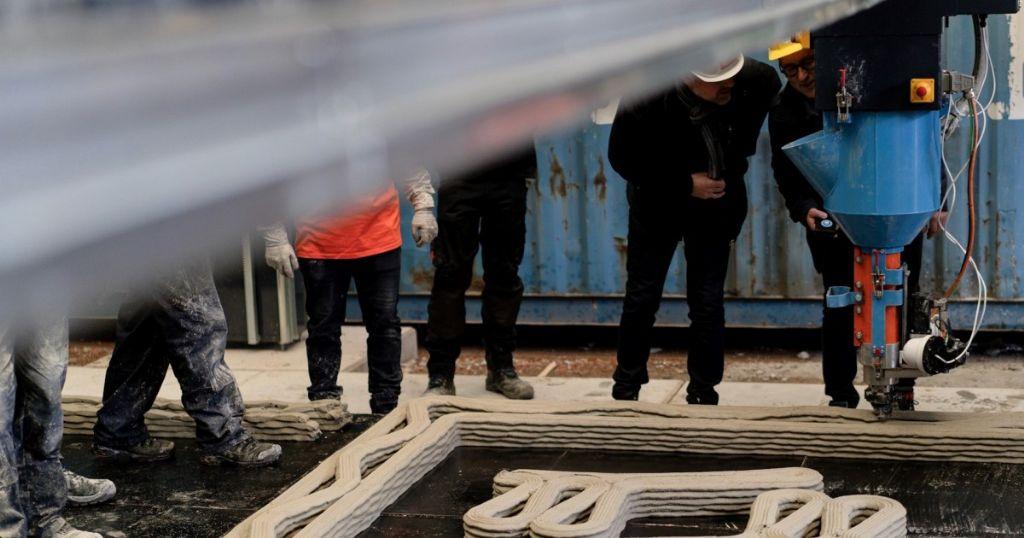 3D-inspiratiedag '3D-betonprinten in de bouw, de toekomst'