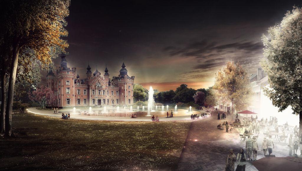 OMGEVING en TRANS architectuur | stedenbouw winnen ontwerpwedstrijd voor opwaardering kern Dilbeek