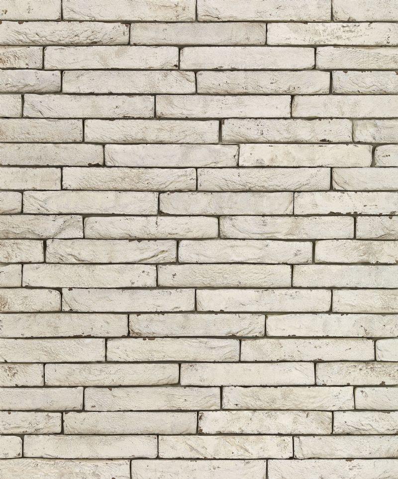 Een muur opgebouwd uit Imperium gevelstenen