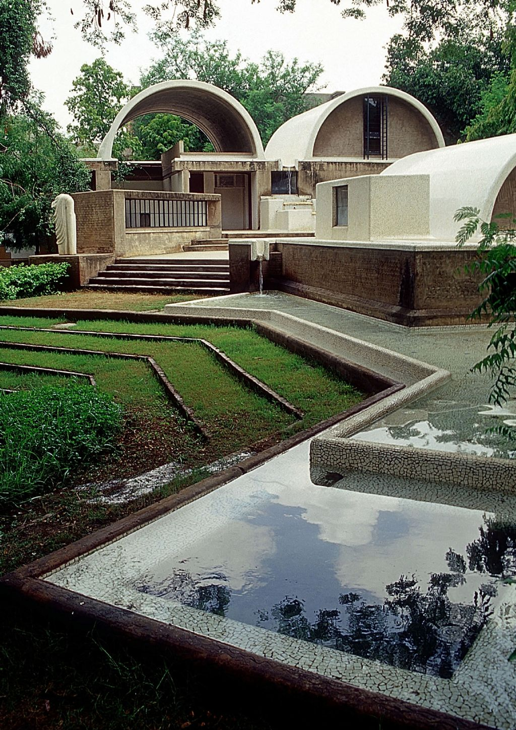 Sangath Architect's Studio 1980 Ahmedabad, India