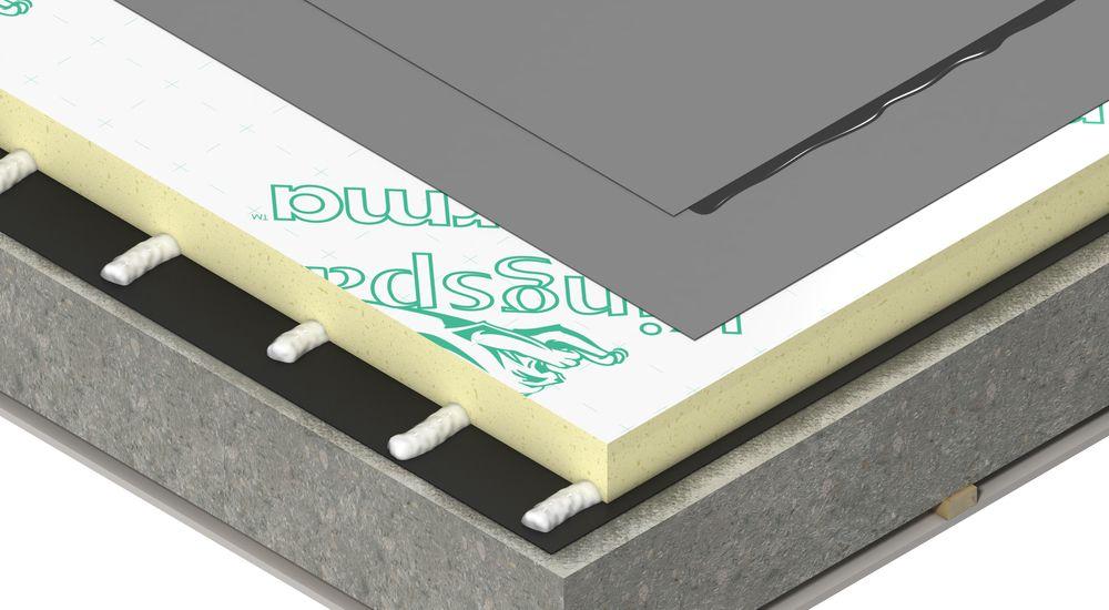 Therma TR28: isolatieplaat voor verlijmde platte daken