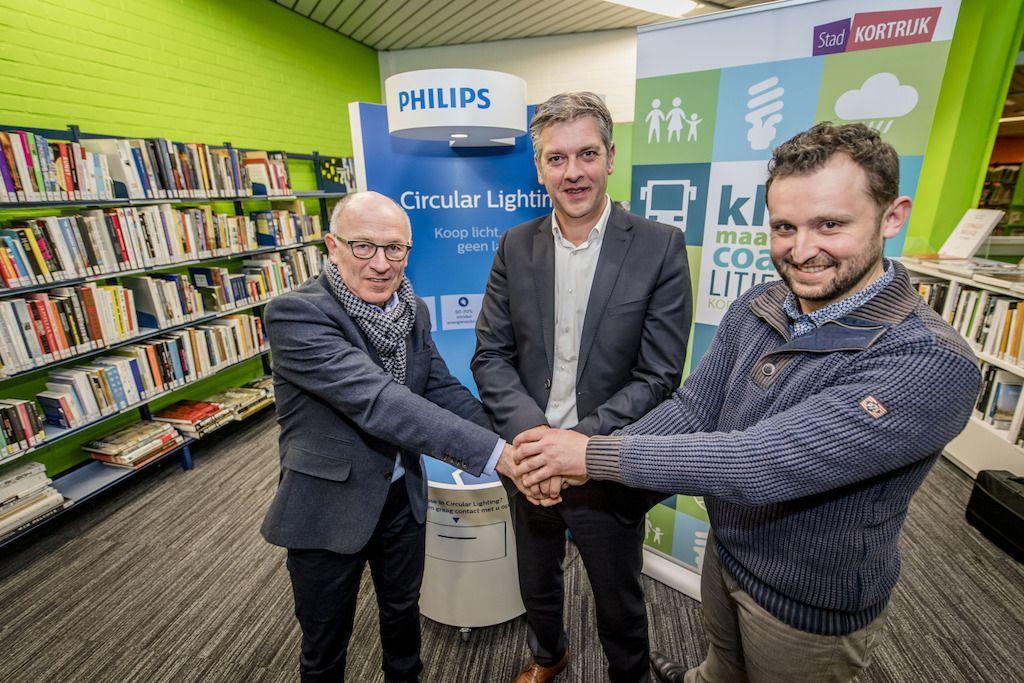 Philips Lighting assure une première belge à Courtrai