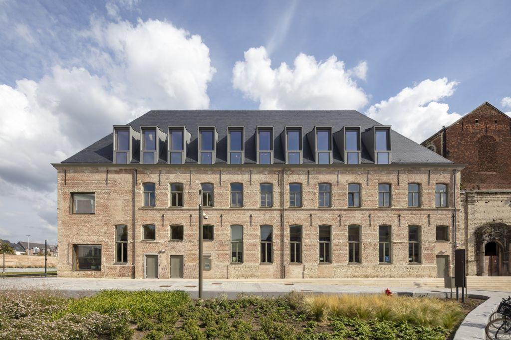 Vorig jaar won Het Predikheren in Mechelen - naar een ontwerp van Korteknie Stuhlmacher Architecten i.s.m. Callebaut Architecten en Bureau Bouwtechniek - de Onroerenderfgoedprijs 2020