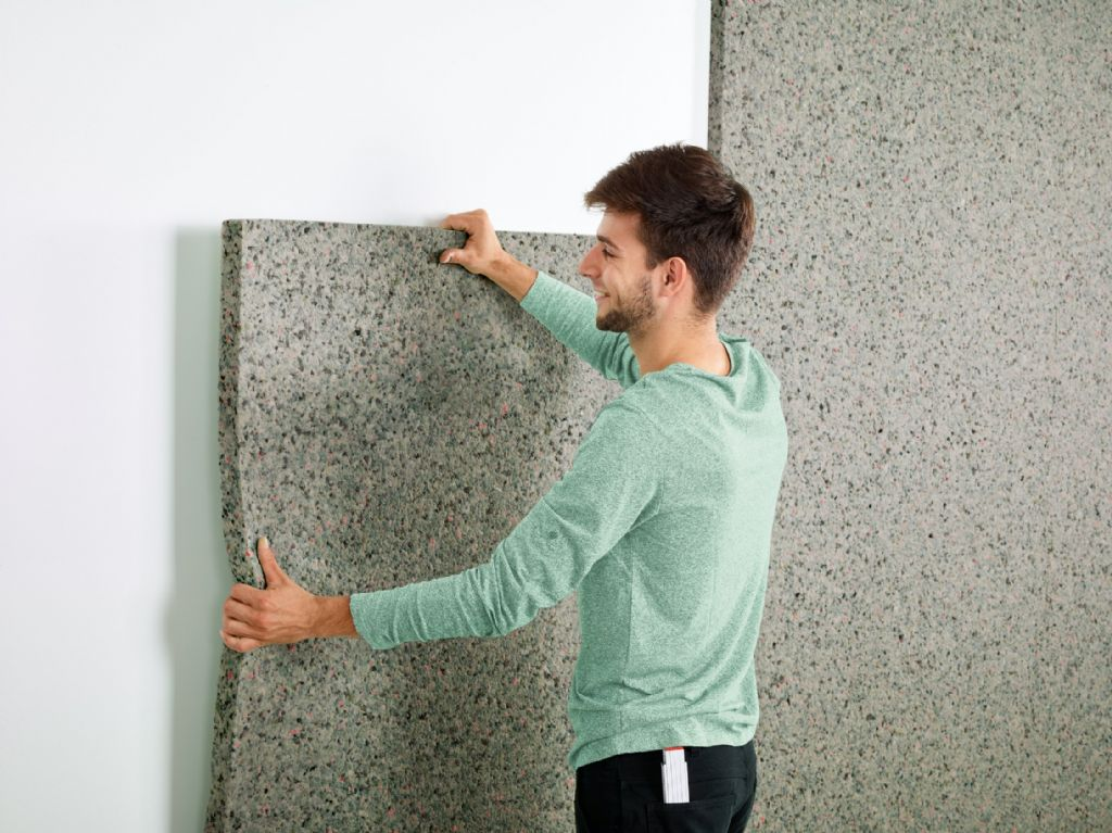 Silentwall® réduit le bruit jusqu'à 60%