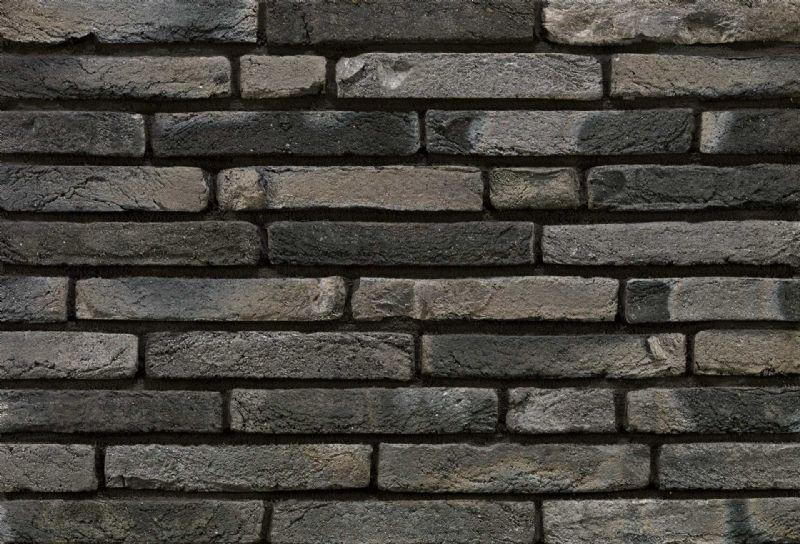 Een muur van Linaqua gevelstenen