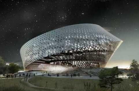 Nationale bibliotheek in Kazachstan van Bjarke Ingels (BIG architecten)