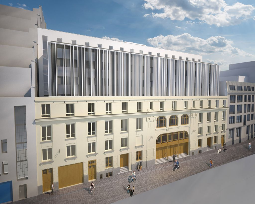 Marivaux (Una|a) : residentie voor studenten en jonge starters blaast Brusselse Sint-Pietersstraat nieuw leven in