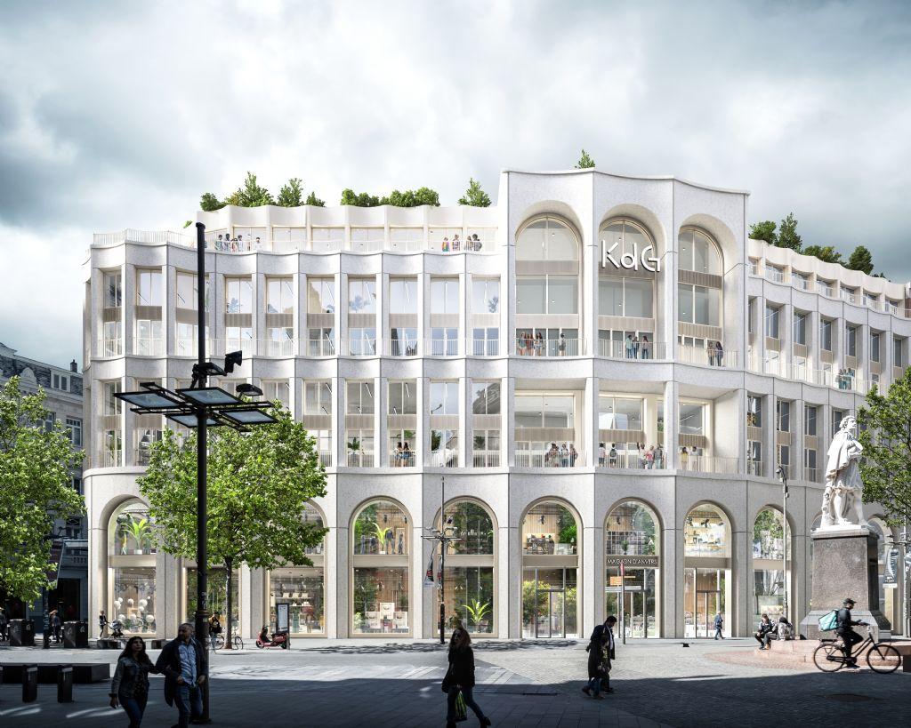 Nieuwe campus Karel de Grote Hogeschool op Antwerpse Meir komt in stroomversnelling