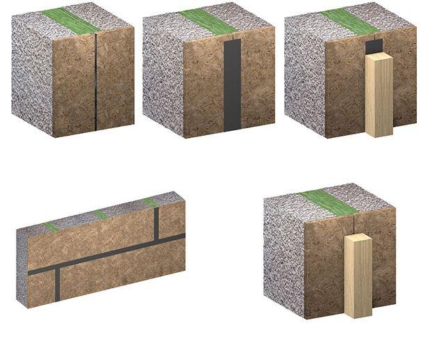 Parois constituées de panneaux à base de bois : influence sur l'étanchéité à l'air et sa durabilité