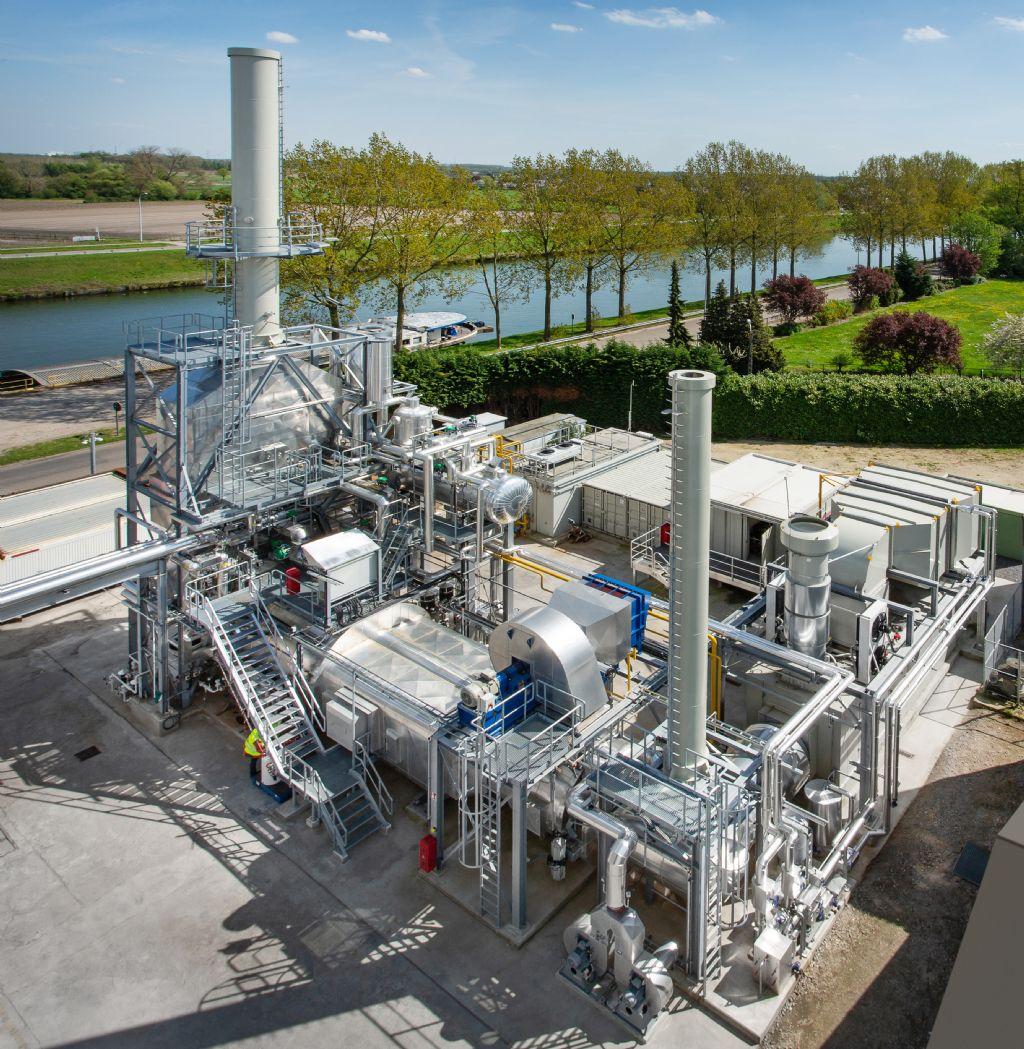 Nieuwe warmtekrachtcentrale zorgt voor 2.000 ton minder CO2-emissie