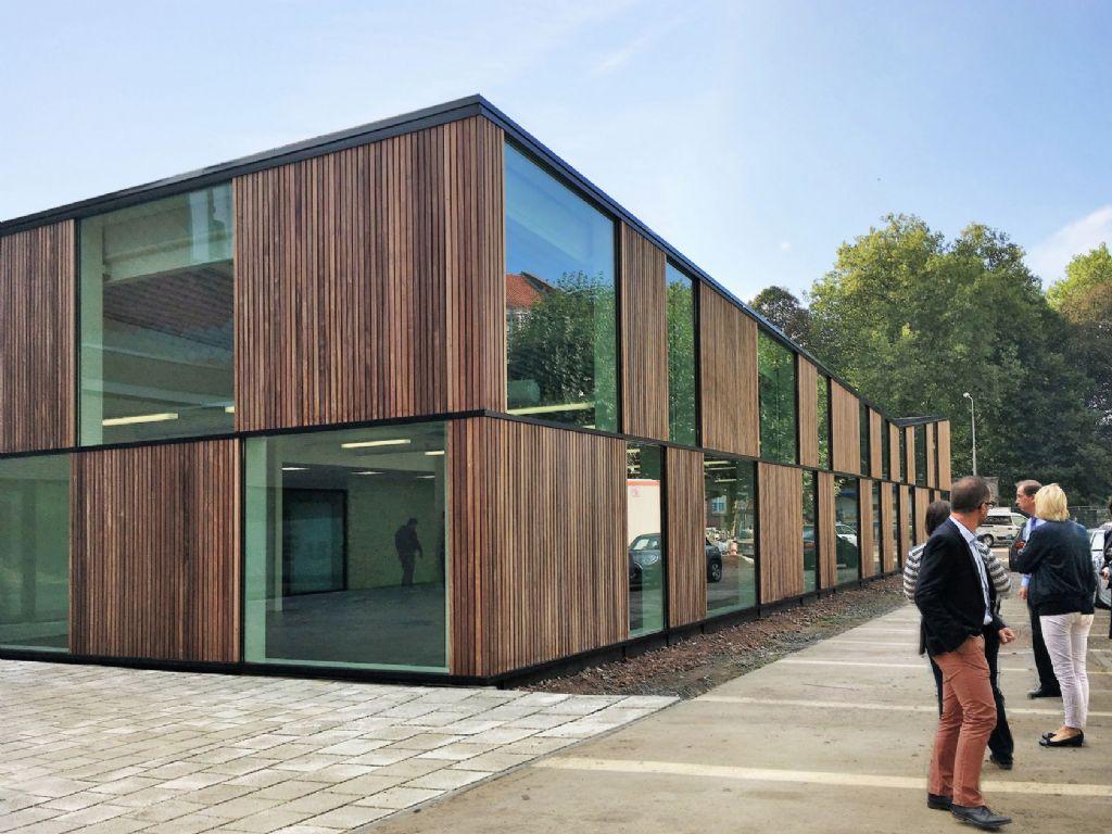 De nieuwe refter op campus Plein © Abscis Architecten