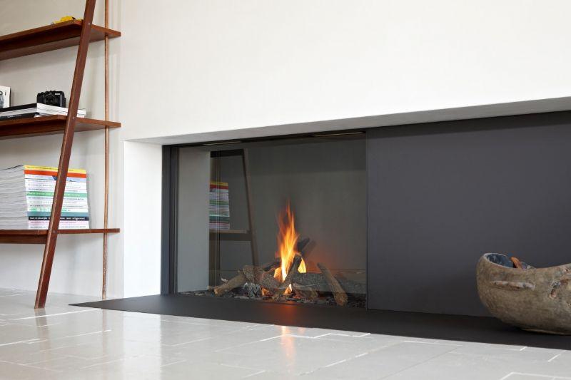 Stûv presenteert design Tulp gashaard met woodburner