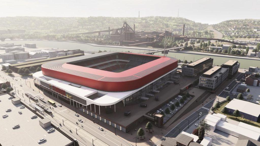 Le stade de Sclessin sera agrandi et pourvu de nouvelles fonctions