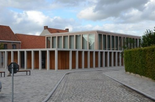 Stationshuis in Merkem.