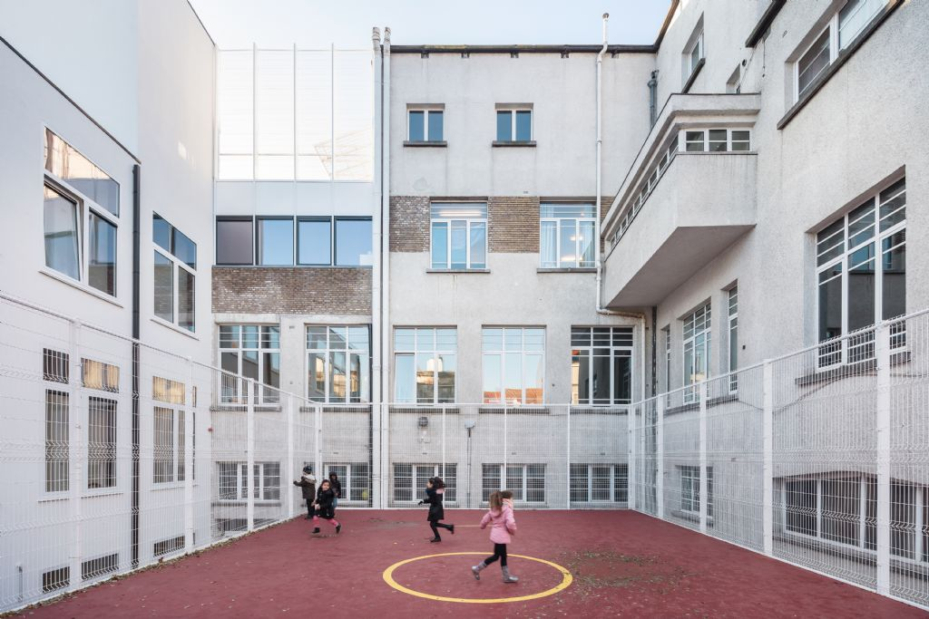 Label Architecture breidt lagere school uit zonder verlies van ruimtelijke kwaliteit