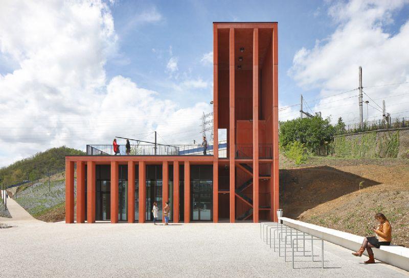 La gare d'Herstal, Grand Prix d'Architecture de Wallonie (ARJM)