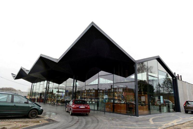 De Eetwinkel in Destelbergen is genomineerd in de categorie niet-residentiële gebouwen.