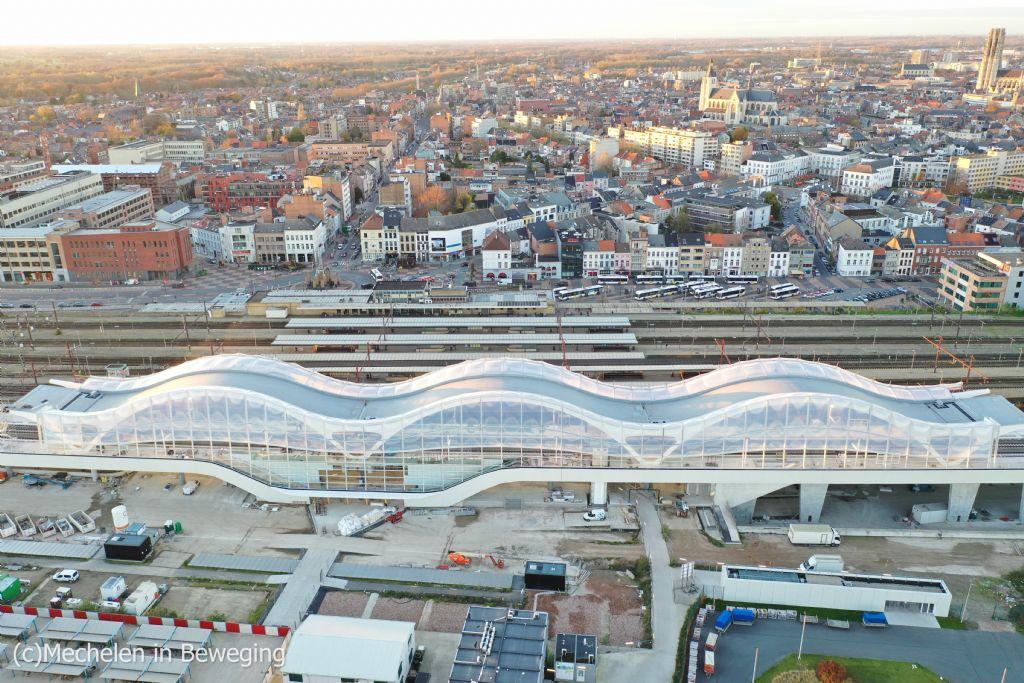 Stationsoverkapping NMBS Mechelen