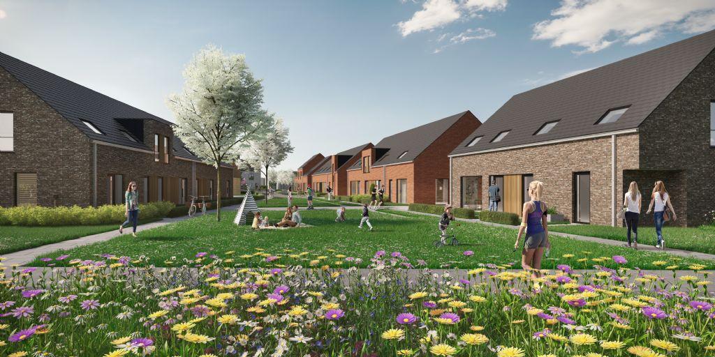 Cottreel Architecten ontwerpt 250 woningen voor ontwikkeling Roobaertpark in Roeselare
