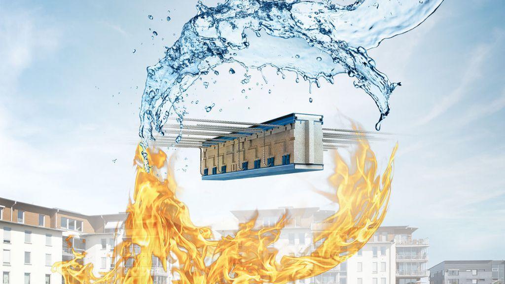 Schöck garandeert brandveilige verankering