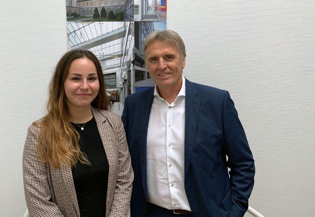 Sophie Leemans en Philippe Van Goethem (Architect & Partner SVR-ARCHITECTS)