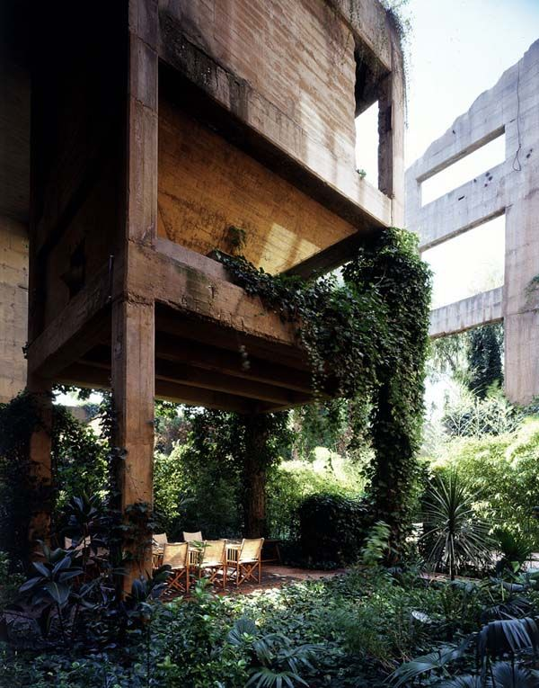 Het kantoor, woning en atelier van Ricardo Bofill.