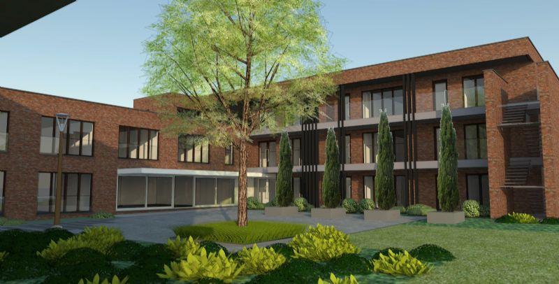 Het hele project kost 4,5 miljoen Euro en zal een kleine 30 woningen bevatten.