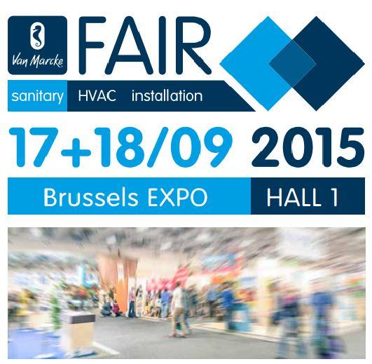 Brussels Expo is het decor voor de Van Marcke Fair.