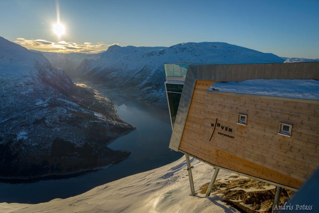 Belgische kwaliteit voor Noors restaurant met spectaculair uitzicht