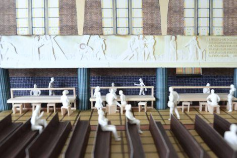RE-ST onderzocht de herbestemming van de schoolkapel van het Klein Seminarie in Hoogstraten.