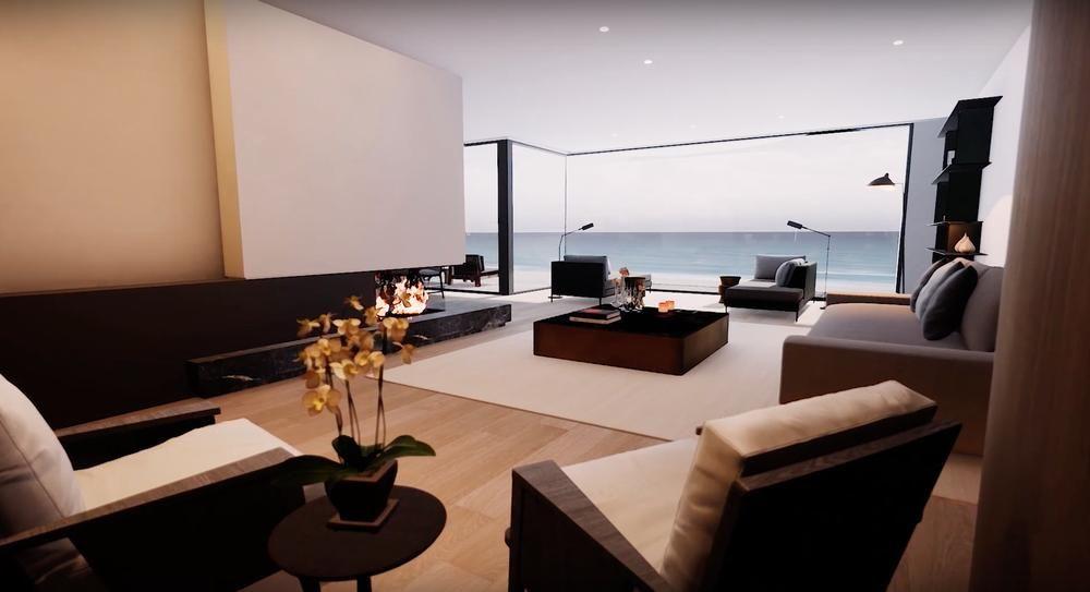 Un projet prestigieux à la côte, avec une isolation de grande qualité