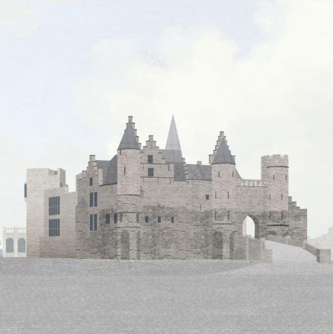 """An Fonteyne (noAarchitecten) over Het Steen: """"Dit kan tot een interessant, eeuwenoud debat leiden"""""""