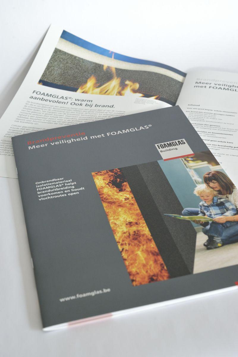 FOAMGLAS brengt brandbrochure voor architecten uit