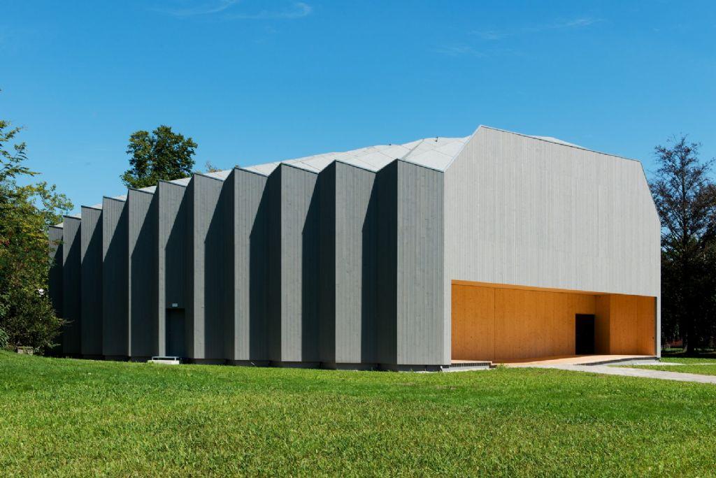 Pavillon du Théâtre Vidy-Lausanne (Yves Weinand architectes sàrl), lauréat dans la catégorie Réalisation hors Wallonie d'un architecte wallon