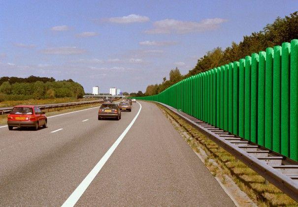 Porocom langs de snelweg