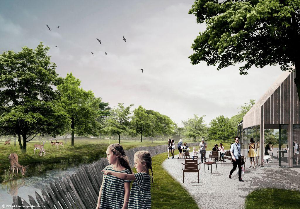 Een nieuwe thuisbasis voor Staatsbosbeheer als toegangspoort tot het Haagse Bos.
