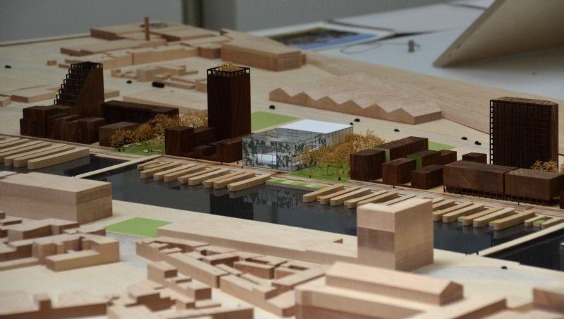 Stadsgebouw aan de Oude Dokken, Gent  Ontwerp: architectenbureau Xaveer De Geyter Architects