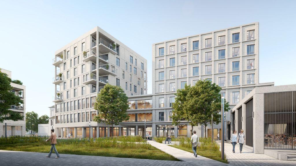 POLO architects en OKRA Landschapsarchitecten geven site AZ Sint-Maarten Mechelen nieuwe invulling