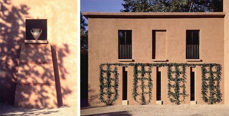 Graves baseerde zich op het modernisme maar verwerkte tegelijk opnieuw klassieke elementen in zijn werk. Dit is ook zo bij zijn eigen woning in Princeton die The Warehouse gedoopt werd.