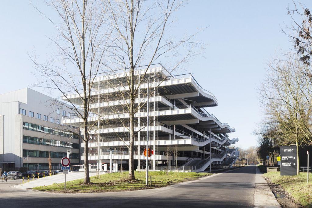 Concours construction Acier 2020 : parking Imec/KUL, aérien et linéaire