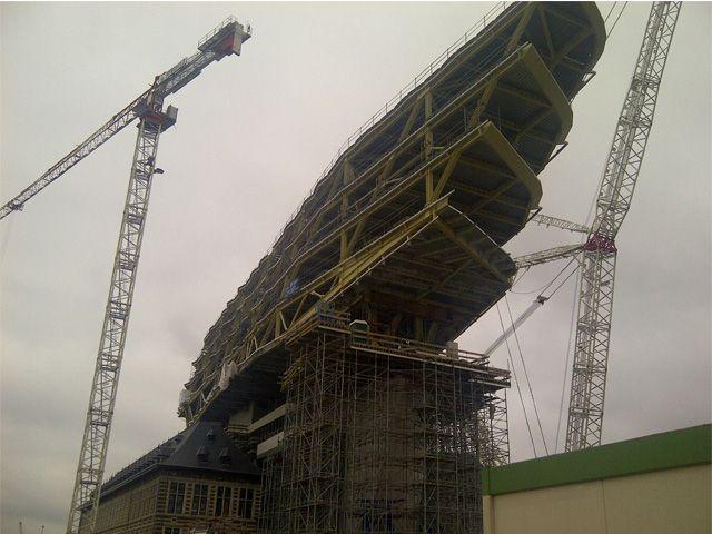 Nieuw Havenhuis Antwerpen krijgt meer en meer vorm