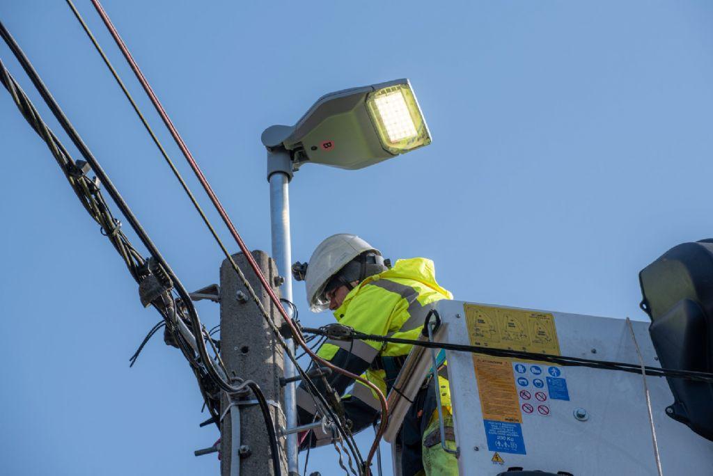 Schréder participe à la modernisation de l'éclairage public en province de Liège