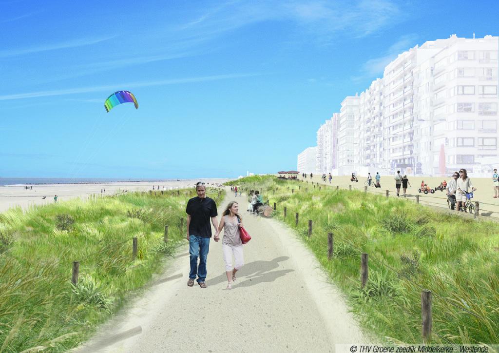 Middelkerke krijgt nieuwe zeedijk
