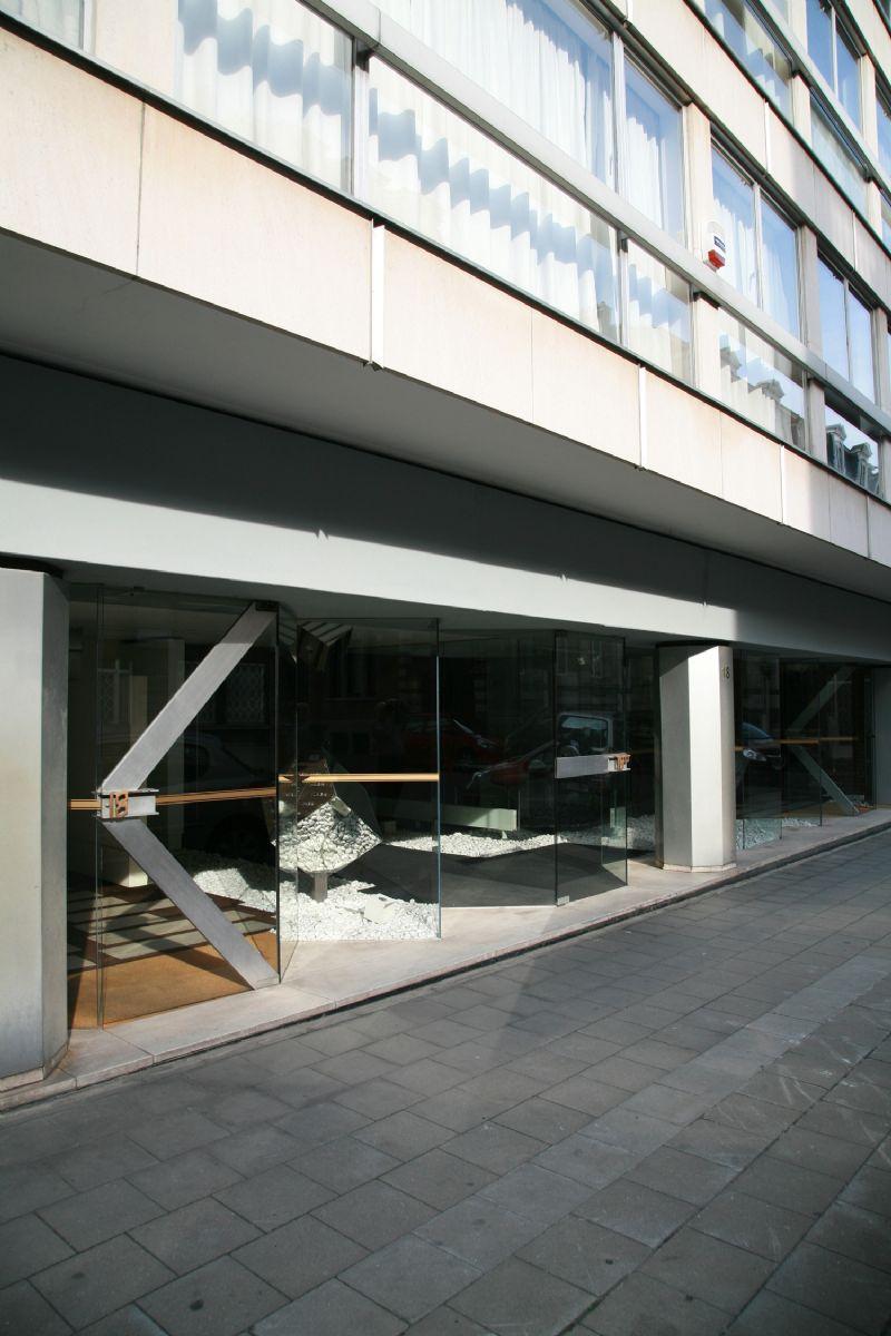 Het kantoor van BURO II & ARCHI + I op de Jordaensstraat in Brussel.