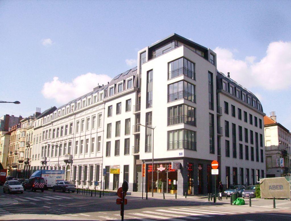 Projet mené au Boulevard Emile Jacqmain à Bruxelles pour Willemen Real Estate