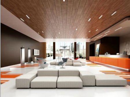 Warme uitstraling dankzij houten plafonds