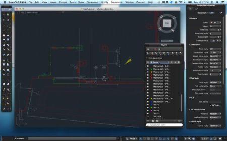 AutoCAD 360 geoptimaliseerd voor iPad Air en iPad mini met Retina-scherm