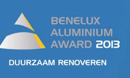Inschrijving Benelux Aluminium Award 2013 voor Duurzaam Renoveren gestart