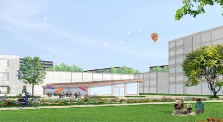 Collectief Noord ontwerpt woonzorgzone Gitschotelhof in Borgerhout